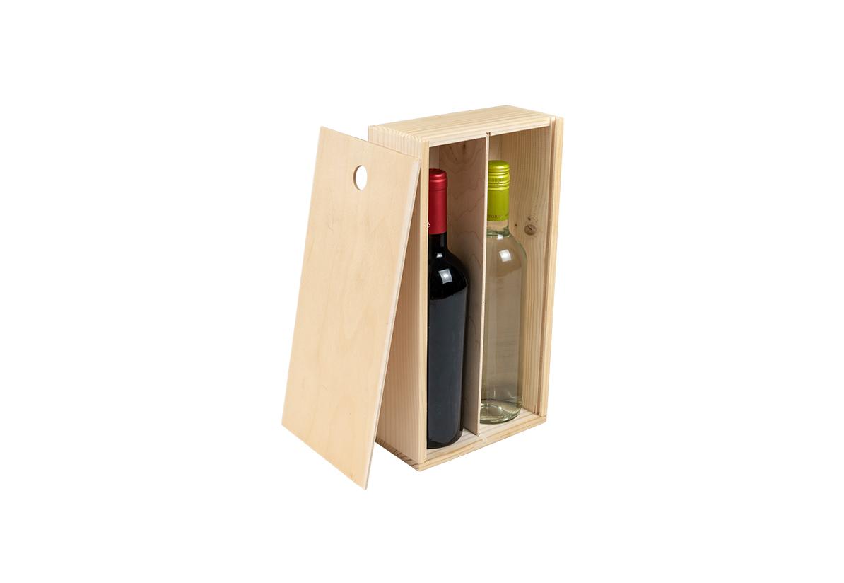 Cutie vin – Doua sticle
