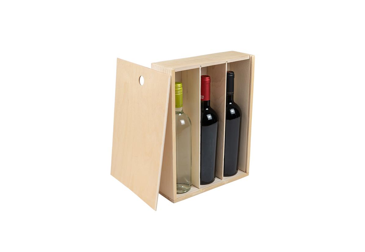 Cutie vin – Trei Sticle